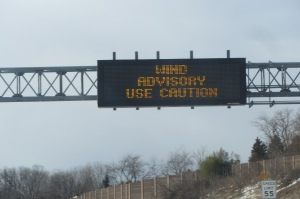 This about sums up our drive through Pennsylvania.
