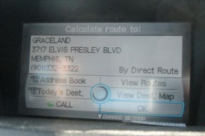 The coolest address our GPS has ever seen.