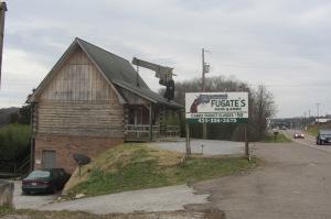 Shotgun shack in Calhoun, Tennessee.