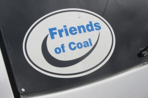 This bumper sticker appeared around town every now and again. Surprisingly few Greenpeace stickers, though.