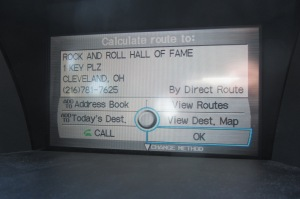 After Graceland, the second-coolest address our GPS has ever seen.