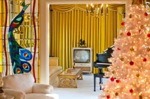 Elvis' living room!