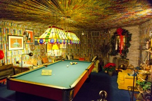 Elvis' wacky basement!