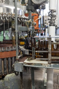 Where bourbon-infused ale is bottled.