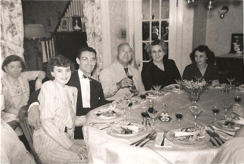 """In the absence of an actual photo, I just googled """"Italian family dinner""""."""