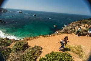 PROTIP: Don't run up a sandy hill.