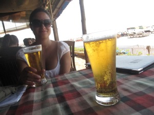 In my opinion, all beer in India - any hot country, for that matter - tastes the same.