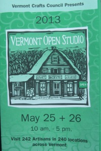 Get your rubber boots on! It's Open Studio Weekend!