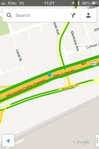 "I was checking traffic and thought this said ""Highway of Herpes""."