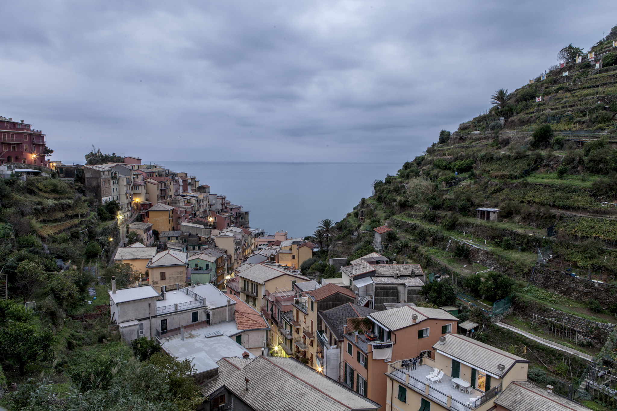 Good morning, Manarola. (The view from our window)