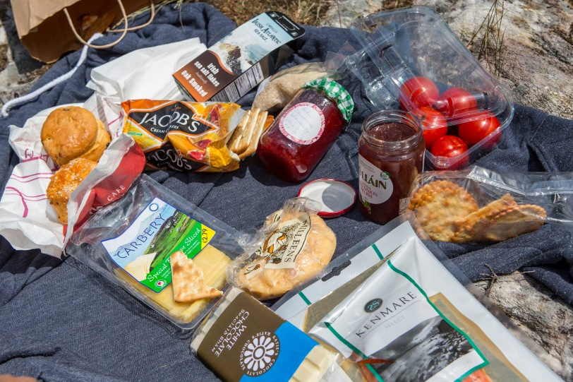 Picnic along the Ring of Kerry.
