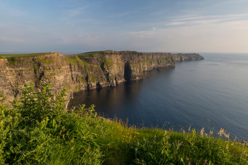 And these... would be the Cliffs of Insanity, aka the Cliffs of Moher.