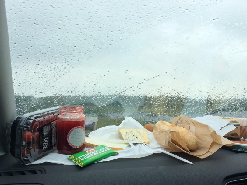Rainy picnic
