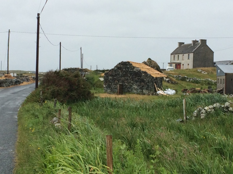 Connemara - Roofless house