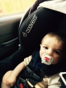 Travel with Baby - Road Trip - Baby in Car Seat